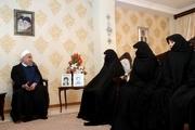 رئیسجمهور: در راه استقلال و آبادانی، به دعای خیر خانواده شهدا نیازمندیم