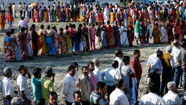 آغاز بزرگترین انتخابات پارلمانی جهان+عکس