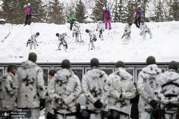 «برف مرگ» در آمریکا و اروپا+ تصاویر