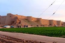 دومین بنای عظیم خشتی و گلی کشورآماده میزبانی ازمسافران نوروزی است