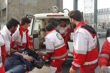 سقوط خودرو در رودخانه کرج 2 مصدوم برجای گذاشت