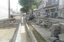 زیباسازی و مناسب سازی پیادهروها اولویت برنامه های شهرداری سقز است