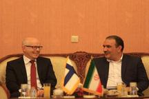 فنلاند آماده همکاری مشترک زیست محیطی با ایران است