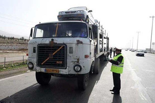 تردد کامیون در معابر درون شهری البرز ممنوع شد