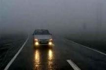 کاهش شدید دید رانندگان در محور دهلران- اندیمشک