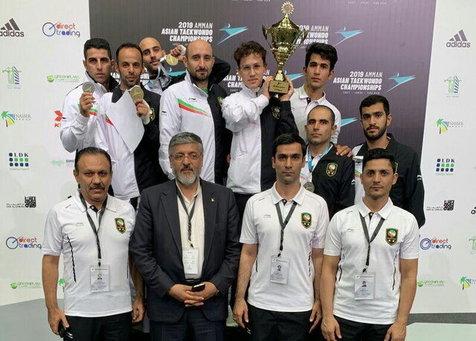 قهرمانی پاراتکواندو ایران در آسیا برای پنجمین بار