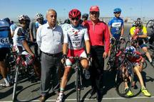 دوچرخه سوار آذربایجان غربی رکورد جوانان ایران را شکست