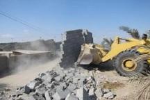 بیش از 9 هکتار از اراضی ملی شهرستان کهنوج رفع تصرف شد