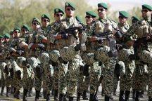 نقش ارتش در تامین امنیت مرزهای کشور بی بدیل است