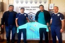 تیم فوتسال رسانه ورزش کرمان در گرجستان اردو میزند