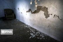 زلزله اخیر به ۳۳۰ واحد مسکونی شهری و روستایی در کهگیلویه خسارت زد