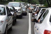 ترافیک در خروجی های مازندران به سمت پایتخت سنگین است