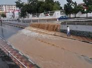 شهر کرج را آب بُرد! + تصاویر