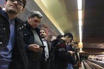 سرپرست شهرداری تهران در مترو و بی آرتی+ عکس