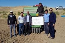 مزارع مشارکتی گندم و جو در چاراویماق کشت می شود