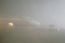 مه گرفتگی باز هم منجر به توقف پروازهای فرودگاه مشهد شد