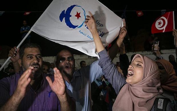 پایان انتخابات تونس؛ دو حزب اعلام پیروزی کردند