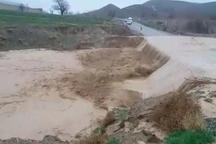 سیل و تگرگ به کشاورزی و راه خراسان شمالی خسارت زد