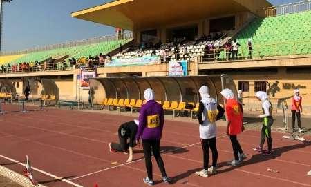 آغازمسابقات قهرمانی دوو میدانی دانش آموزان دختر سراسر کشور درسنندج