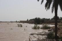 شهر دارخوین در تهدید سیل قرار گرفت