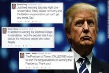 توییت های جنون آمیز ترامپ/ آمریکا در مسیر هشدار