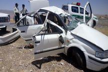 تصادف در امیرکلای بابل ۲ کشته و ۵ زخمی برجای گذاشت