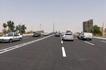 پل اصلی تقاطع غیر همسطح شهید بندر اهواز افتتاح شد