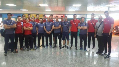 ورود تیم ملی والیبال نوجوانان ایران به تونس برای حضور در مسابقات قهرمانی جهان