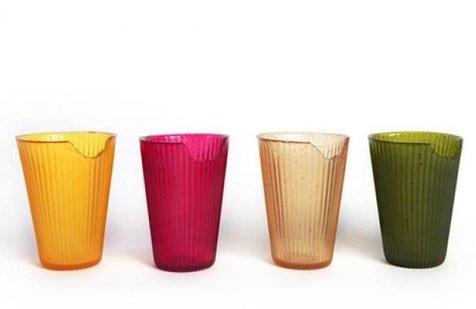 این لیوان ها خوردنی هستند+ ویدیو