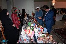 افتتاح نمایشگاه صنایع دستی در بیت تاریخی امام خمینی(س)