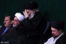 سومین شب مراسم عزاداری حضرت فاطمه زهرا (سلاماللهعلیها) در حسینیه امام خمینی