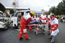 امدادرسانی هلال احمر ایلام به 6 حادثه رانندگی