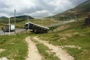 حادثه رانندگی تردد در جاده درگز - قوچان را مختل کرد