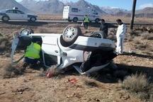 واژگونی خودروی ال 90 در ازنا 2 کشته برجای گذاشت