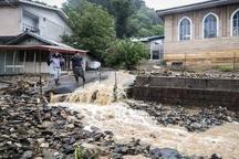 سیلاب به روستاهای بخش چهاردانگه آسیب وارد کرد