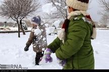 برف مدارس 2 شهرستان خراسان شمالی تعطیل کرد