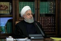 روحانی: فضای مجازی می تواند در بخش تولید و اشتغال تحرک ایجاد کرده و در رونق تولید ملی تاثیرگذار باشد/ باید برای پیشگیری از انتشار شایعات در فضای مجازی سیاست گذاری مناسبی داشته باشیم