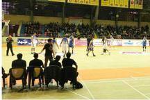 تیم بسکتبال شهرداری گرگان تیم پارسای مشهد را شکست داد