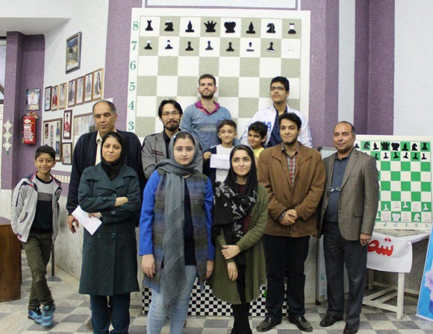 رقابت های منطقه ای شطرنج در گرگان پایان یافت