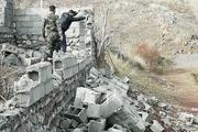 یک هزار متر مربع اراضی ملی طالقان رفع تصرف شد