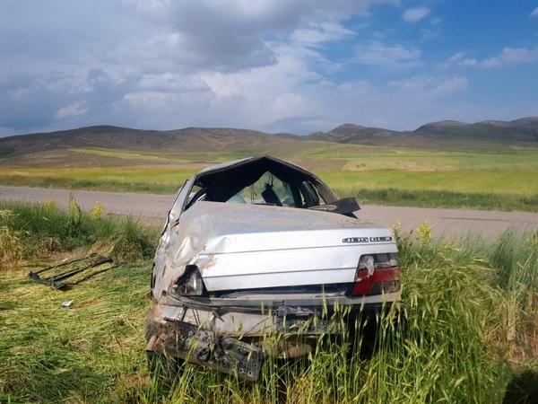 ۱ کشته و ۷ مصدوم در پی دو حادثه رانندگی در قوچان