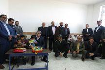 مدرسه یک کلاسه در روستای خونیکباز به بهره برداری رسید