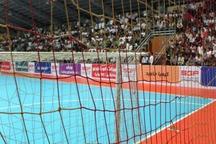 پیروزی پرگل مس سونگون در گام هشتم لیگ برتر فوتسال