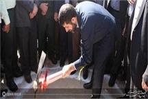 آغاز عملیات اجرایی پروژه آبرسانی کوی سیاحی  و سلیم آباد اهواز