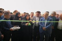 2 سالن ورزشی در شهرستان خرامه به بهره برداری رسید