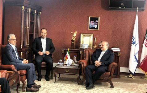دیدار رییس AFC با وزیر ورزش+عکـس