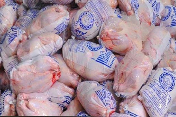 740 تن گوشت مرغ در اردبیل توزیع شد