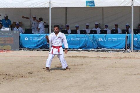 نماینده کاراته مردان ایران از بازی های ساحلی جهان حذف شد