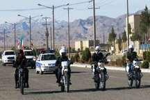 رژه موتوری آغاز دهه فجر در یزد برگزار شد