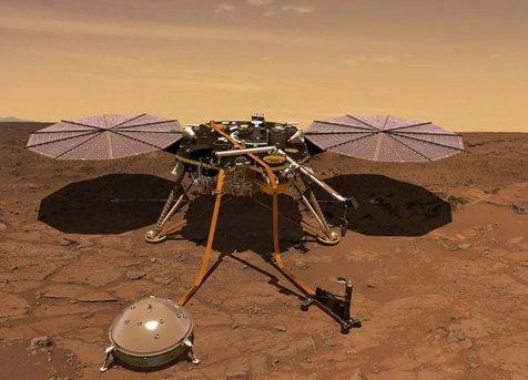 صدای بادهای مریخ ثبت شد+ ویدیو